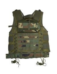 Paintball Vest With Four Pod Holders  Tactical Wear & Sports