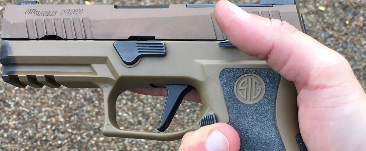 SIG P320 X-Carry – First impressions   Tactical dk