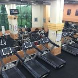 Fully equipped weights room/gym.