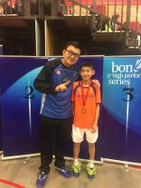 Coach Andrew and Victor Lai