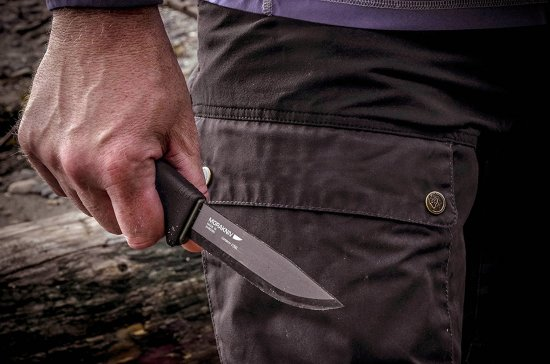 Morakniv Bushcraft Black Review