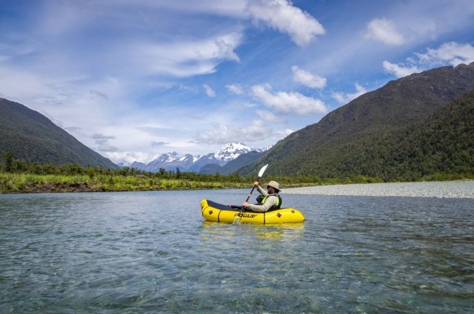 Hiking & Packrafting the Pyke River in New Zealand