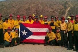 Bomberos forestales de Puerto Rico listos para combatir incendios en Estados Unidos