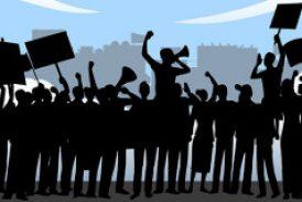 Denuncian agresiones a miembros del campamento contra la Junta
