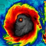 """El """"terrorífico"""" aspecto del huracán Matthew se vuelve viral en Internet"""