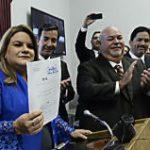 Jenniffer González radica el Acta de Admisión