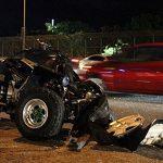 Fallece individuo en medio de accidente con un vehículo todo terreno