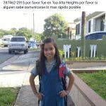 Desaparece niña en la urbanizacion Toa Alta Heights en Toa Alta ( Comparte)