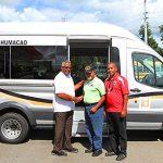 Oficina de Veteranos del Municipio de Humacao recibe nuevo vehículo