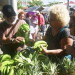 Mercado agrícola en Trujillo Alto
