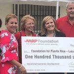 Loíza contará con nuevo centro de ayuda gracias a AARP y Foundation for Puerto Rico