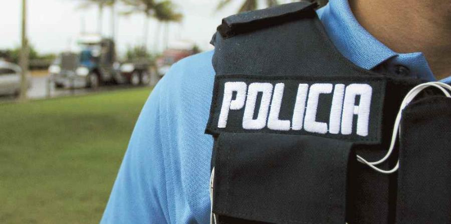 El uniformado lleva 10 años en la policía municipal. (horizontal-x3)