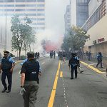 Consultarán con Fiscalía casos de 19 arrestados en manifestaciones del primero de mayo