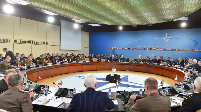 Meetings of the Minister of Defence with NATO Secretary General and Chairman of the Military Committee