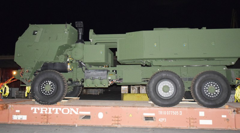 First HIMARS system elements arrived in Romania