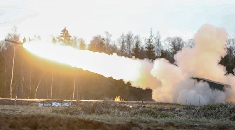 Fires Shock field artillery exercises kick off in Estonia