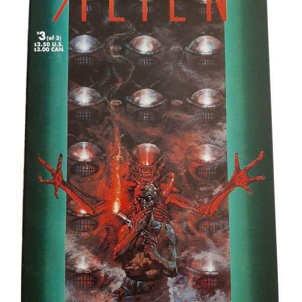 Alien 3 Comic #3 (of 3) Movie Adaptation