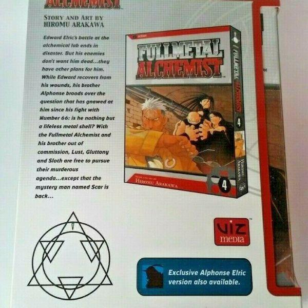 Fullmetal Alchemist Boxset with Edward Figurine By Hiromu Arakawa, Manga