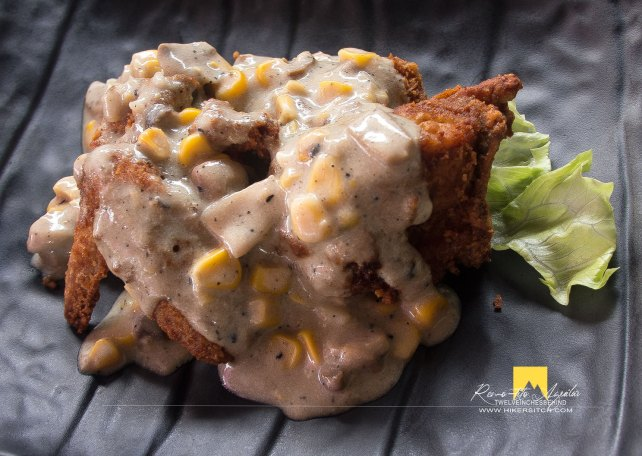 Chicken Pineapple and Cream Mushroom, also a must try