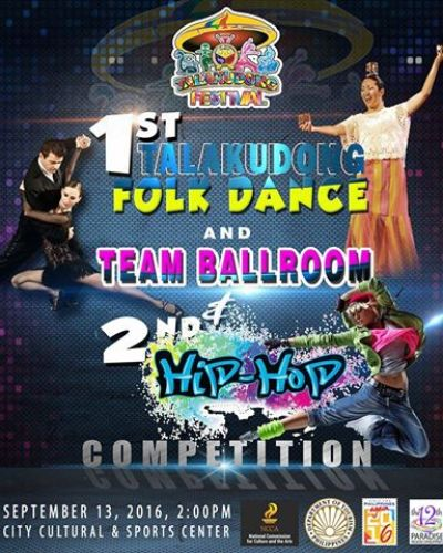 Talakudong Folk Dance Competition