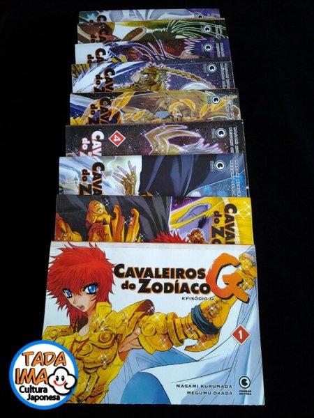 Sebo de Mangas Cavaleiros do Zodíaco Episódio G - 01 ao 10