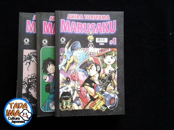 Sebo de Mangas - Marusaku - 01 ao 03