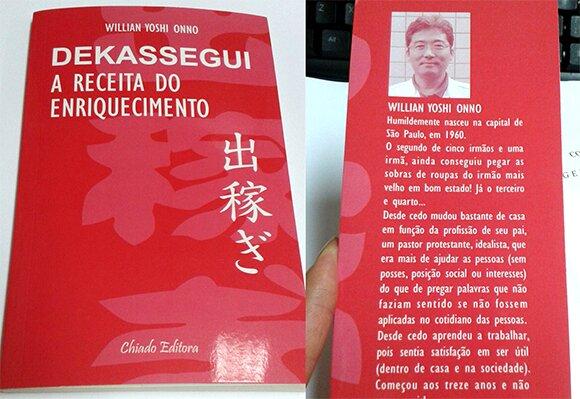 Livro de ficção retrata a vida dos dekasseguis no Japão
