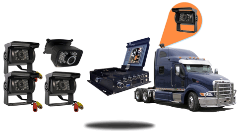 4.3-Inch Mobile DVR for Trucks