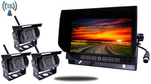 7 Inch Monitor with 3 Built In Digital Wireless Mounted RV Backup Cameras?w=1080&ssl=1 digital wireless backup camera installation on a fifth wheel  at soozxer.org