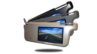 Visor Monitor for driver and passenger side