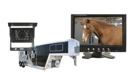 low price horse trailer backup camera