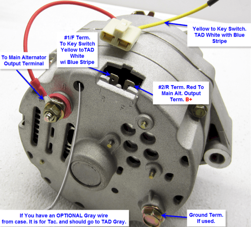 Wire Gm Alternator Wiring Diagram Success
