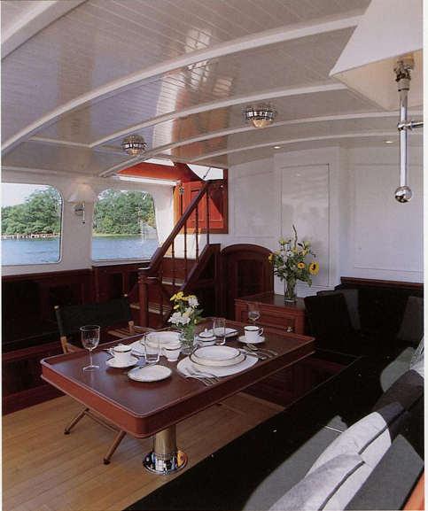 Interior Design Tad Roberts Yacht Design