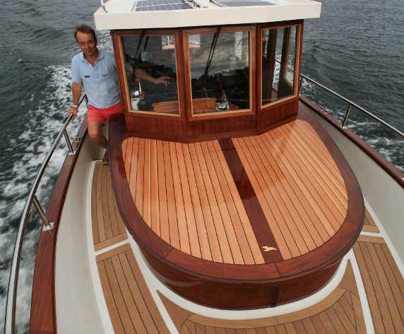 Ironbark 28 Traditional Doubleended Displacement Boat