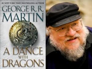 "George R.R. Martin -- ""A Dance With Dragons"" (photo: Karolina Webb)"