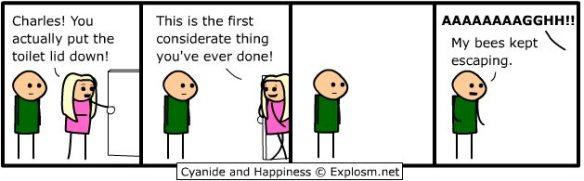 My idea of domestic humor.