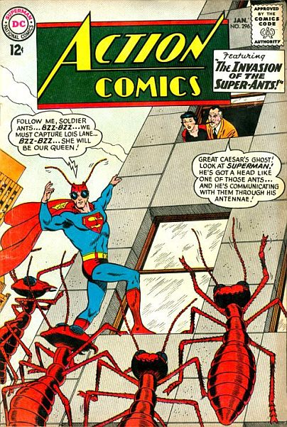 Lois and Perry and the rest of the folks in Silver Age Superman's life must have felt like they were on a permanent acid trip.