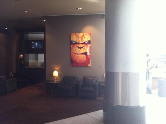 Gold Coast hotel lobby