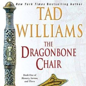 The Dragonbone Chair: The US audiobook cover with artwork by Michael Whelan (July 5th, 2016)