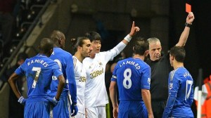Ki and Eden Hazard Red Card