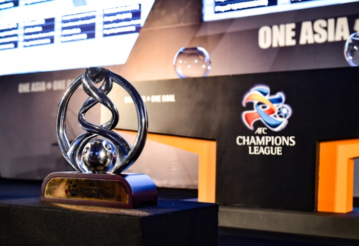 The ACL trophy ahead of the draw (source)