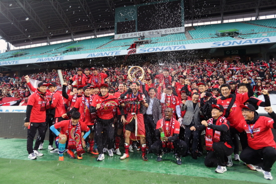 FC Seoul claimed the 2016 K League title and qualification to the 2017 ACL (source)
