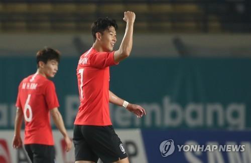 Korea squeaks by Kyrgyzstan 1:0 in Asian Games group finale