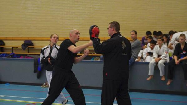 Wako NL Toernooi.mattijs Opwarmen1