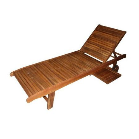 Galway Sun Lounger With Tray