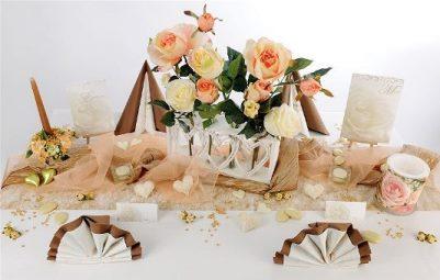 Romantische Tischdekorationen mit tollen Hinguckern