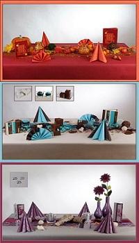 Tischdekoration  Welche Farben fr welchen Anlass
