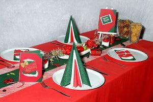 Tolle PastaParty mit italienischer Tischdekoration  Tafeldeko
