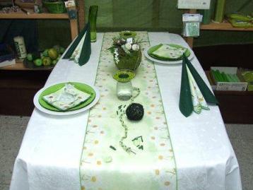 Immer wieder ein Thema Tisch eindecken  Tafeldeko