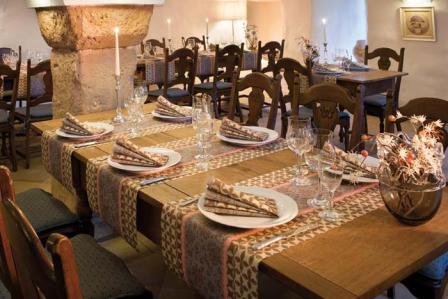 Die neue Nuance der Tischdeko mit Bergamasque  Tafeldeko